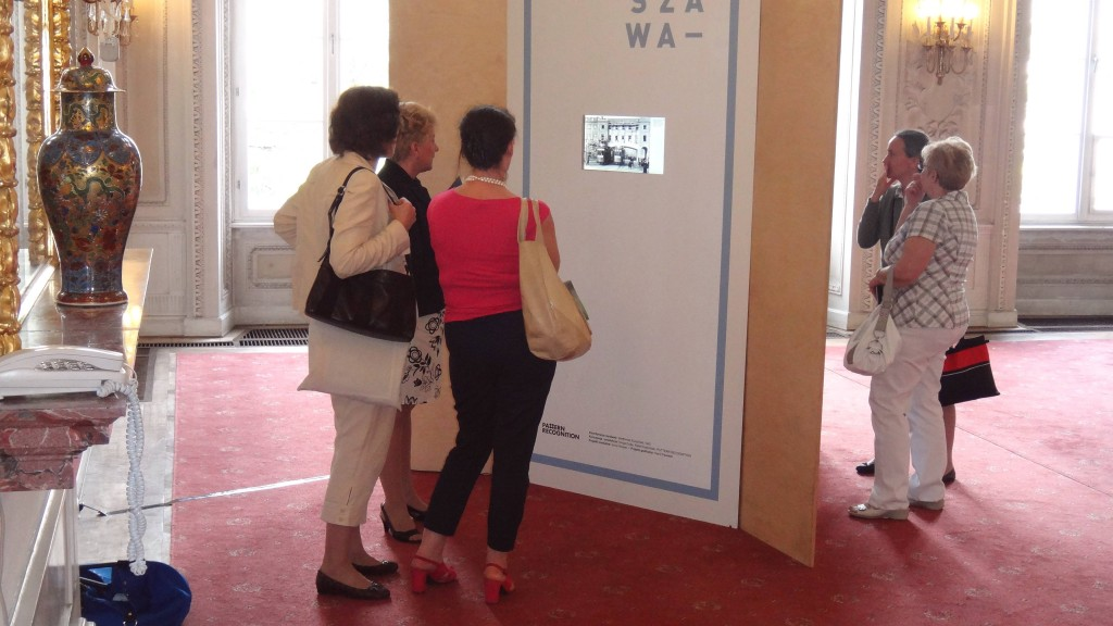 Exhibition for the National Digital Archives, Warsaw, 2013