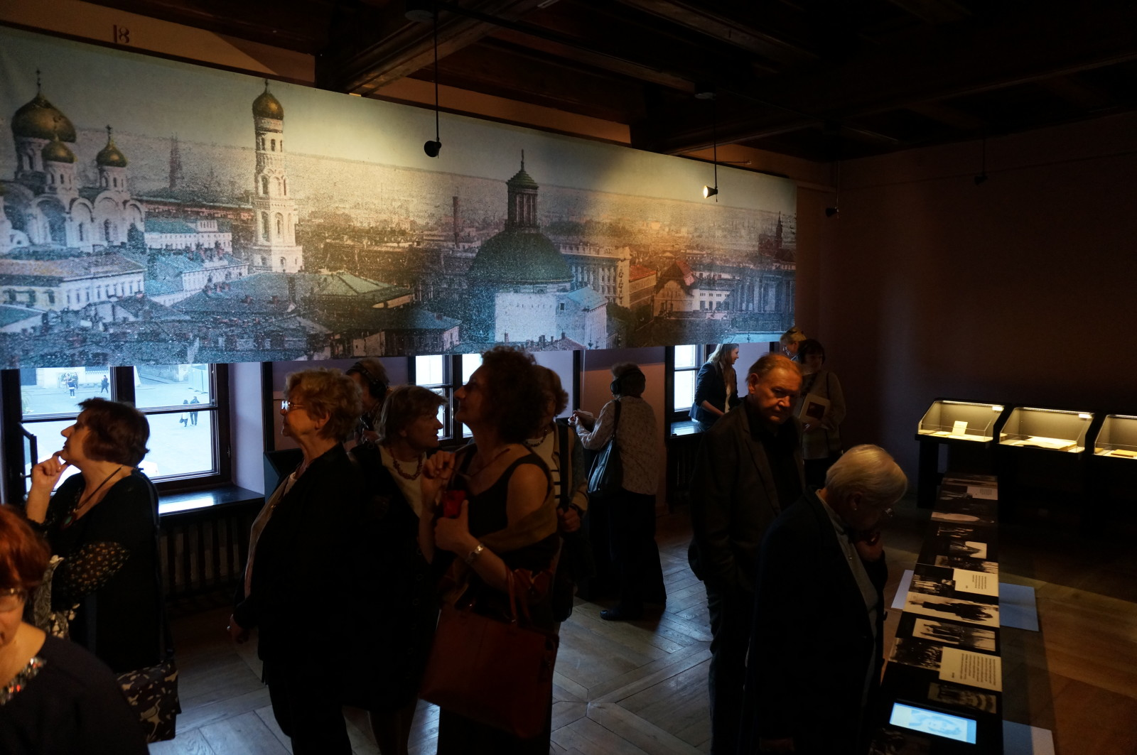"The exhibition ""My nights, my days"", the Museum of Literature in Warsaw, 2015"