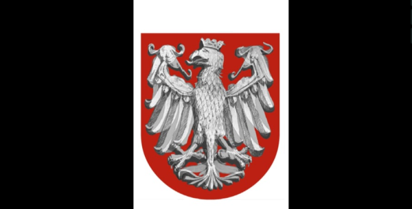 Morphing of Polish national emblem, The National Anthem Museum, Będomin, 2015