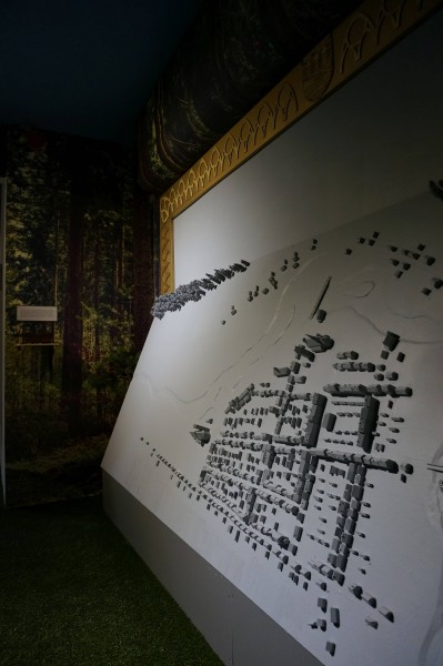 The Legend – multimedia spectacle and installation, Historical Muzeum in Przasnysz, 2015