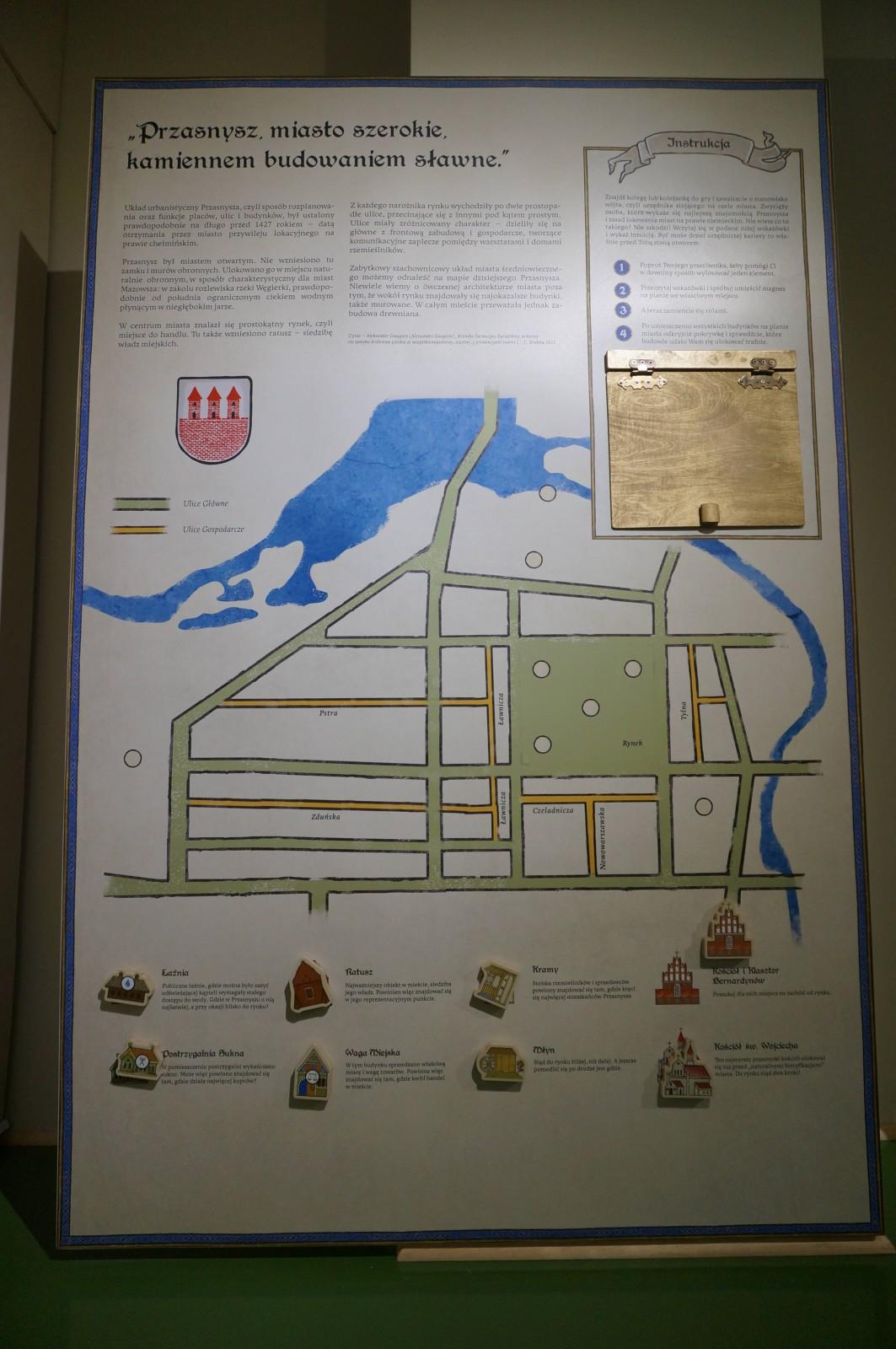 Золотой век города Пшасныша (Przasnysza), Исторический музей в Пшаснышу, 2015.